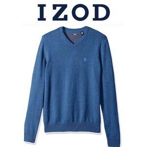 Big & Tall IZOD Premium Essentials V-Neck Sweater
